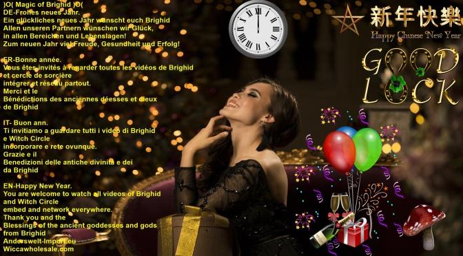 Glückliches Neues Jahr Bonne AnnEe